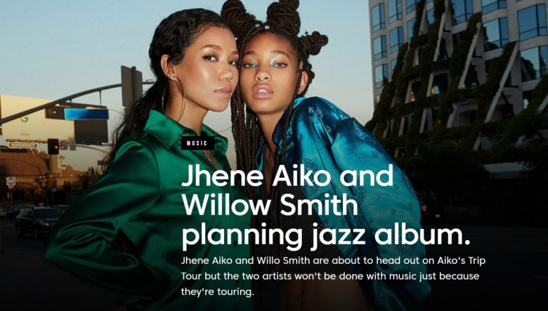 jhene and willow